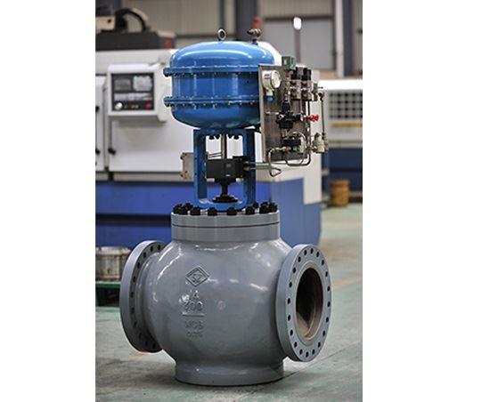 SBP压力平衡抛物面阀芯单座笼式调节阀
